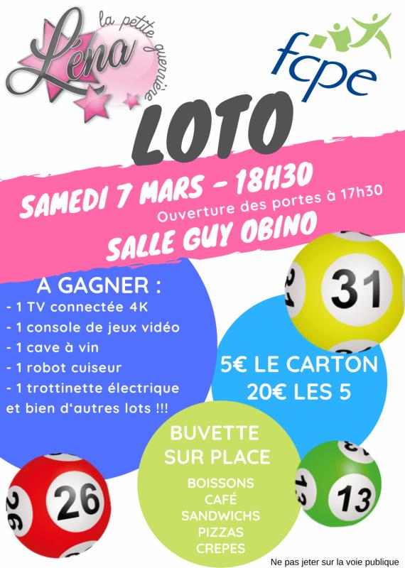 Affiche loto 2020